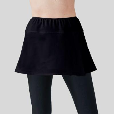 白でも透けない紫外線防止のオーバースカート