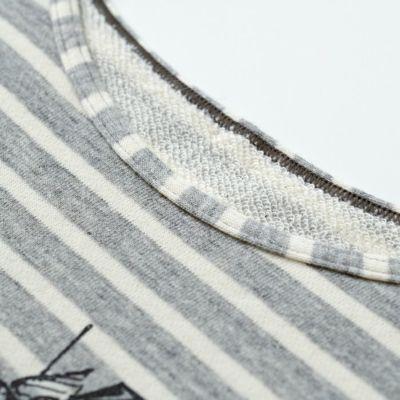 綿100%の裏毛で肌触りが良いカバーアップ