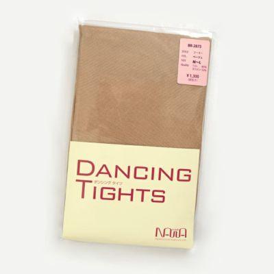 上品な光沢と適度なサポート感のダンシングタイツ