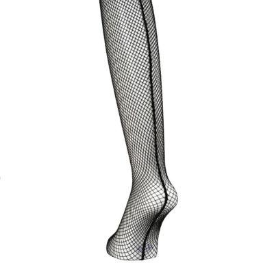 脚長&美脚効果、ほどよいサポート力のメッシュタイツ