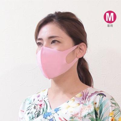3サイズ展開でお好みのサイズを選べます、洗濯で繰り返し洗える3D布マスク
