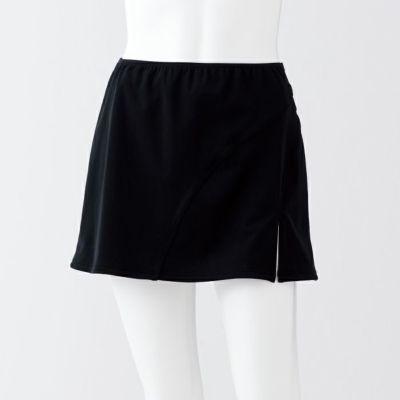 気になるヒップ周りをカバーし更に足長効果抜群のオーバースカート